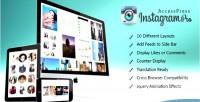 Instagram accesspress feed pro