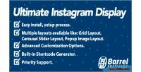 Instagram ultimate wordpress for display