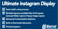 Instagram ultimate wordpress for display