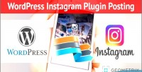 Instagram wordpress plugin posting