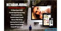 Journal instagram
