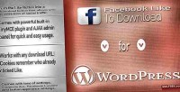Like facebook to wordpress for download