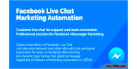 Live facebook automation marketing chat