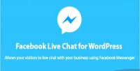 Live facebook wordpress for chat