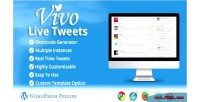 Live vivo plugin wordpress tweets