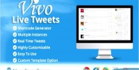 Live vivo plugin wordpress tweets