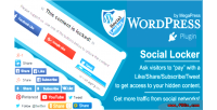 Locker social for wordpress