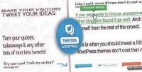 Make tweetdis tweetable phrase any