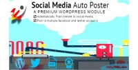 Media social auto poster