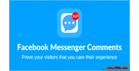 Messenger facebook wordpress for comments