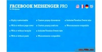 Messenger facebook wordpress for pro