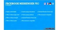 Messenger facebook wordpress for pro