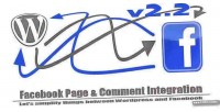 Page facebook comment integration