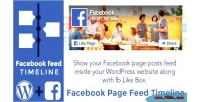 Page facebook feed plugin wordpress timeline