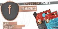 Panel facebook showcase profile facebook your