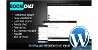 Php boomchat ajax edition wordpress chat