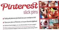 Pins slick pinterest shortcode widget feed
