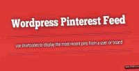 Pinterest wordpress feed