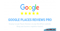 Places google reviews plugin wordpress pro