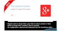 Plus google 1 wordpress for locker