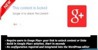 Plus google 1 wordpress for locker