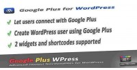 Plus google wordpress for connect