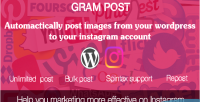 Post gram instagram wordpress for automatic