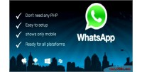 Posts share & whatsapp on pages