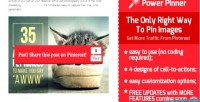 Power pinner best way to pin pinterest to images