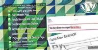 Private ajax plugin wordpress messages