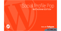 Profile social edition instagram pop