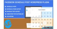 Schedule facebook auto plugin wordpress post