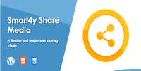 Share smart4y media plugin wordpress responsive