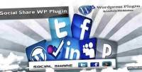 Share social fixed pluginn wordpress button