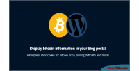Shortcodes wordpress bitcoin information