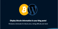 Shortcodes wordpress bitcoin information