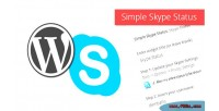 Simple wordpress widget status skype