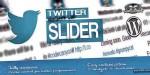 Slider twitter user wordpress for card