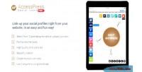 Social accesspress icons pro