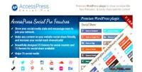 Social accesspress pro