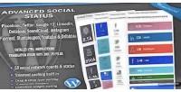 Social advanced status counter social wordpress