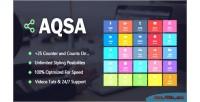 Social aqsa counter wordpress for plugin