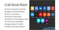 Social crab share