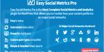Social easy metrics wordpress for pro
