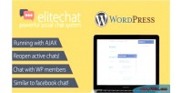 Social elitechat system chat network