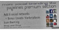 Social more branding section pagelines lite