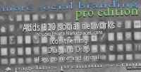 Social more branding section pagelines pro
