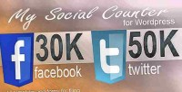 Social my wordpress for counter