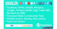 Social socializr share plugin wordpress toolbar