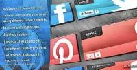 Social wordpress share